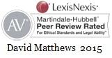David Matthews is AV Rated
