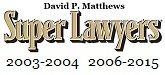 Super Lawyers 2015 - David Matthews