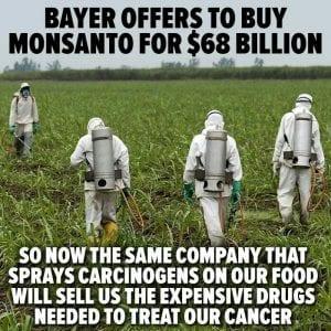 Monsanto hides behind Bayer Name